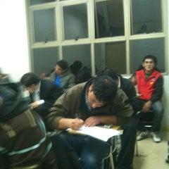 Photo taken at La Araucana Instituto Profesional by Rodrigo M. on 5/16/2012