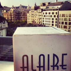 Photo taken at Alaire Terrace Bar by Anna M. on 8/9/2012
