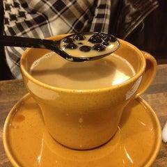 Photo taken at Half & Half Tea House 伴伴堂 by Tyler D. on 6/13/2012