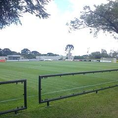 Photo taken at Centro de Treinamento do Caju by Alex F. on 4/21/2012