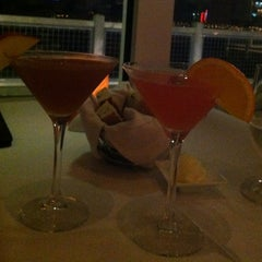 Photo taken at the C restaurant + bar by Cristal C. on 3/5/2012