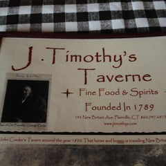 Photo taken at J. Timothy's Taverne by Tony F. on 6/24/2012