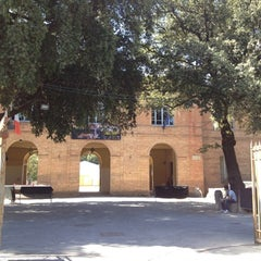 Photo taken at Fortezza Medicea by Riccardo M. on 8/1/2012