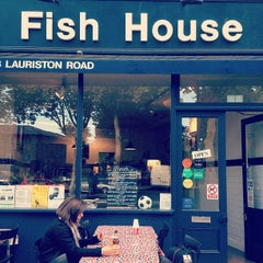 Photo taken at Fish House by Daniele P. on 9/13/2012