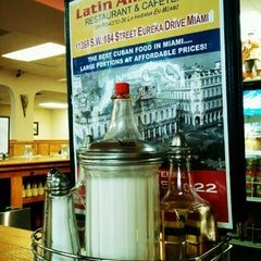 Photo taken at Latin American Restaurant& Cafeteria by Eppy S. on 7/9/2012