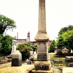 Photo taken at Oakland Cemetery by Chad E. on 6/24/2012