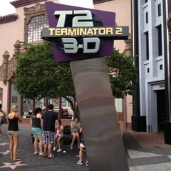 Photo taken at Terminator 2 3-D: Battle Across Time by Joe P. on 7/17/2012