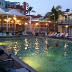 Photo taken at The Lafayette Hotel, Swim Club & Bungalows by Marci S. on 9/7/2012
