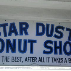 Photo taken at Stardust Donut Shop by Renee S. on 3/20/2012