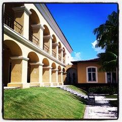 Photo taken at Casa das Onze Janelas by Luiz C. on 4/19/2012