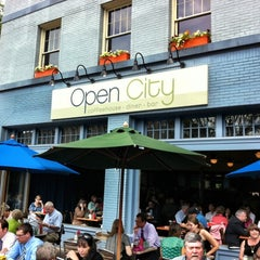 Photo taken at Open City by Stephanie C. on 5/15/2012
