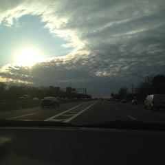 Photo taken at Long Island Expressway (LIE) (I-495) by Meagan K. on 2/27/2012