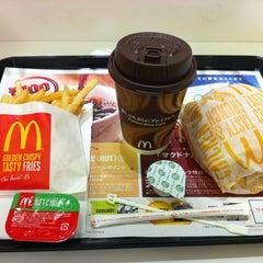 Photo taken at マクドナルド 靱公園前店 by Takumi M. on 5/9/2012