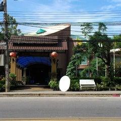 Photo taken at Timber House Resort Krabi by eskay p. on 6/21/2012