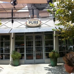 Photo taken at Pure Taqueria by Olivia M. on 8/6/2012
