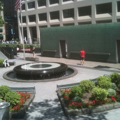 Photo taken at New York City Vietnam Veterans Memorial Plaza by Anthony D. on 8/17/2011
