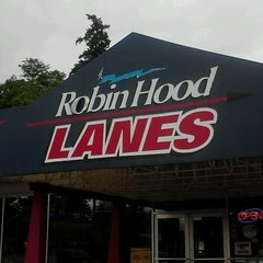 Photo taken at Robin Hood Lanes by Steven S. on 6/27/2012