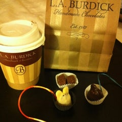 Photo taken at L.A. Burdick Chocolate by Tina M. on 11/19/2011