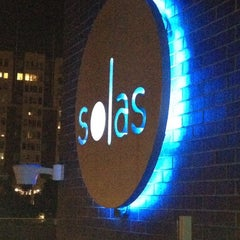 Photo taken at Solas Lounge & Rooftop Bar by Keith G. on 4/13/2012