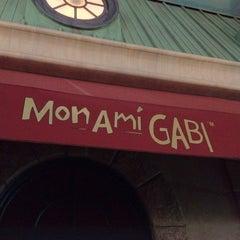 Photo taken at Mon Ami Gabi by Ashley E. on 1/11/2012