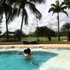 Photo taken at Orchid Country Club Swimming Pool by Diana on 7/15/2012