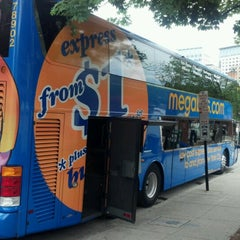 Photo taken at Megabus Stop Providence by Richard M. on 6/9/2012