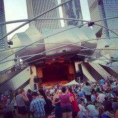 Photo taken at Jay Pritzker Pavilion by DJ M. on 7/17/2012