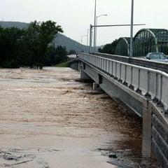 Photo taken at 8th Street Bridge by Matt C. on 9/8/2011