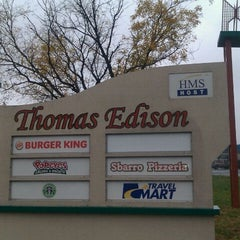 Photo taken at Thomas Edison Service Area by Marcus on 11/16/2011