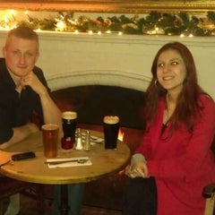Photo taken at The Old White Lion by Ebru K. on 1/1/2012