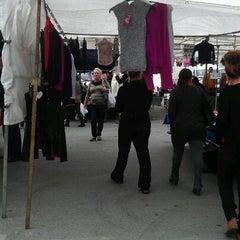 Photo taken at Mercadillo de Huelin by Marta G. on 11/19/2011