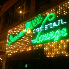 Photo taken at Green Mill Cocktail Lounge by Bill C. on 9/9/2012