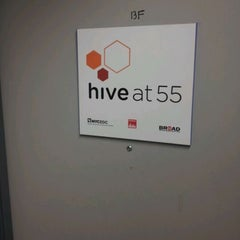 Photo taken at Hive at 55 by Steven N. on 12/12/2011