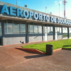 Photo taken at Aeroporto de Dourados (DOU) by Nazem J. on 5/16/2012