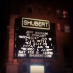Photo taken at Shubert Theatre by Stephen A. on 1/28/2012