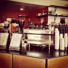 Photo taken at Contraband Coffeebar by Joseph T. on 1/29/2012