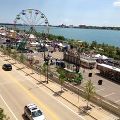 Photo taken at Detroit River Days by Dave F. on 6/22/2012
