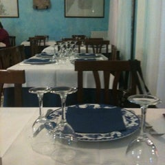 Photo taken at Ristorante Bacio Salato by Lidia on 1/17/2012