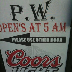 Photo taken at PW's Sports Bar & Grill by Jason R. on 4/2/2011