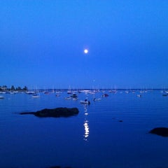 Photo taken at Larchmont Yacht Club by Albert W. on 8/13/2011