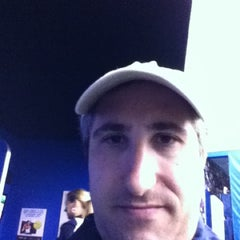 Photo taken at Panasonic Skype Station - US Open by David G. on 9/7/2011