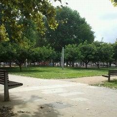 Photo taken at Parc Gandhi by Alberto S. on 8/31/2011