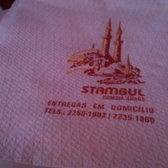 Photo taken at Restaurante Stambul by Cleber O. on 7/29/2012