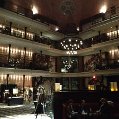 Photo taken at The Liberty Hotel by Bill B. on 3/28/2012
