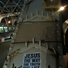 Photo taken at Macombs Dam Bridge by Krysta P. on 2/1/2012