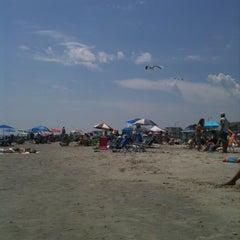 Photo taken at 44th street beach by Brandon W. on 7/31/2011