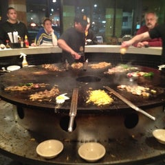 Photo taken at BD's Mongolian Barbeque by Sarah S. on 2/21/2012
