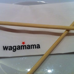 Photo taken at Wagamama by Dr Abdullah A. on 9/24/2011