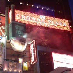 Photo taken at Crowne Plaza Times Square Manhattan by Loai Nassem on 6/15/2012