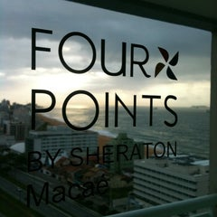 Photo taken at Four Points by Sheraton Macaé by Felipe M. on 4/28/2011